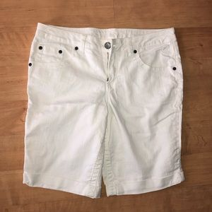 Kids white shorts By Justice